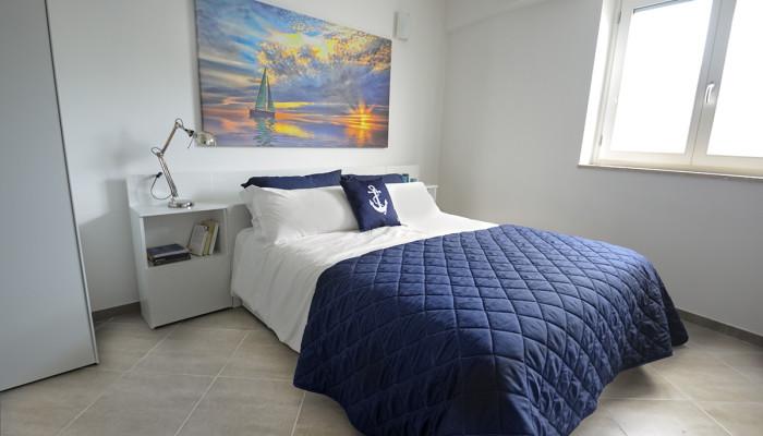 camera matrimoniale appartamento scirocco - appartamenti Hypogeum otranto