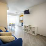 soggiorno appartamento scirocco - appartamenti Hypogeum otranto