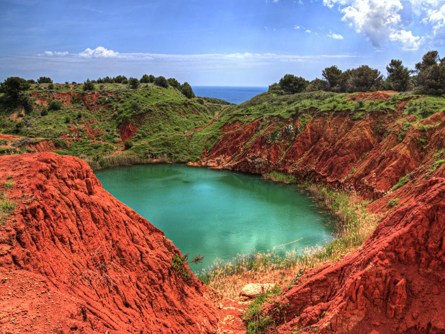 otranto - Lago di Bauxite