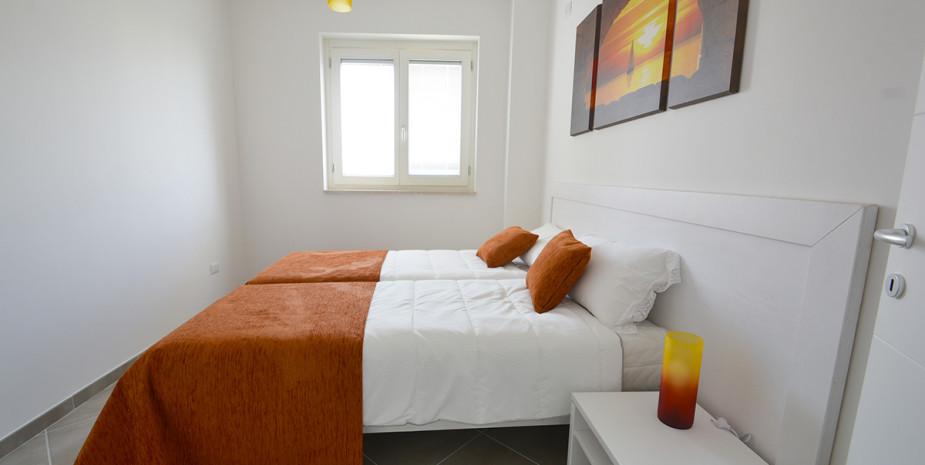 camera doppia – appartamento ponente – appartamenti Hypogeum otranto