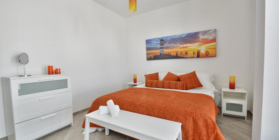 camera matrimoniale – appartamento ponente – appartamenti Hypogeum otranto