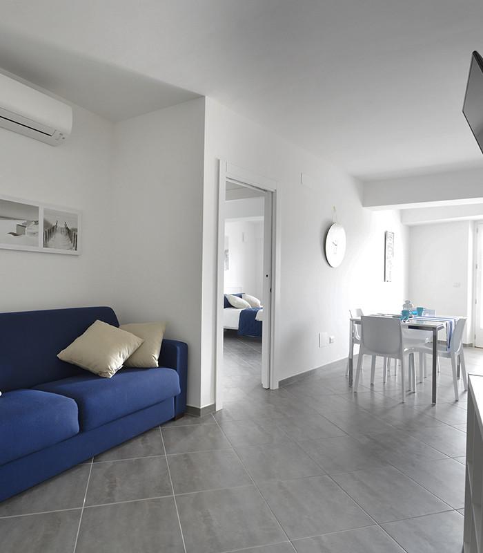 soggiorno appartamento levante - Hypogeum otranto