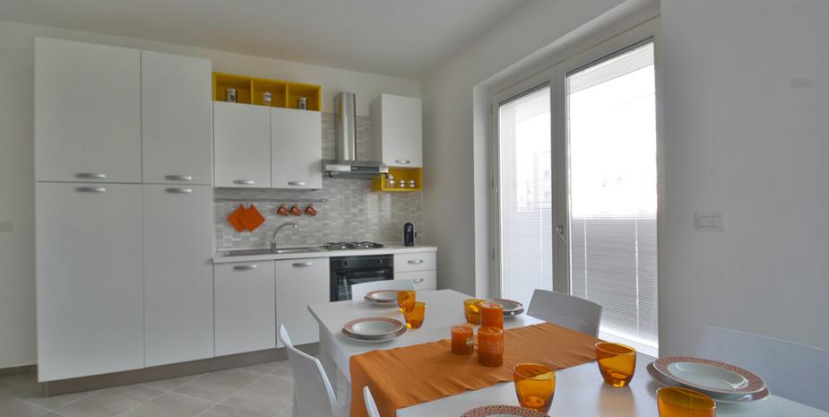 soggiorno – appartamento ponente – appartamenti Hypogeum otranto
